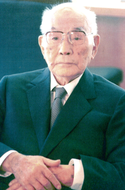 晩年の土光敏夫氏